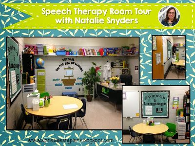 A Peek Into My Speech Therapy Room