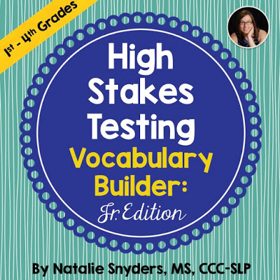 High Stakes Testing: Vocabulary Builder, Junior Edition