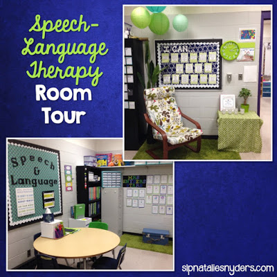 Take a Peek Inside My Speech-Language Therapy Room