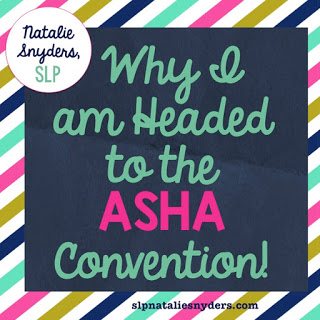 Why I am Headed to the ASHA Convention!