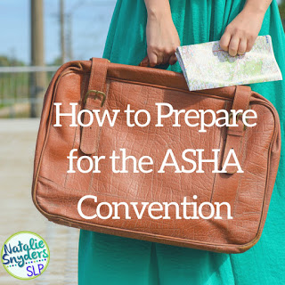 How to prepare for the ASHA Convention – and what to pack!