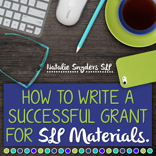 How to Write a Successful Grant for Speech-Language Therapy Materials