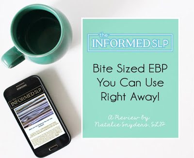 The Informed SLP Review – Relevant and Concise Article Summaries for Busy SLPs