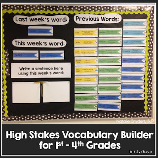 High Stakes Vocabulary Builder for SLPs