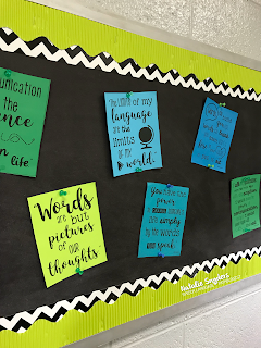 Inspirational Quote Posters for SLPs - Print & Go!