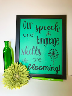 Inspirational Quote Posters for SLPs by Natalie Snyders