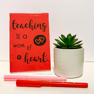 Inspirational Quote Posters for Teachers by Natalie Snyders