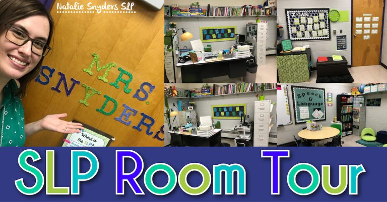 SLP Room Tour with Natalie Snyders