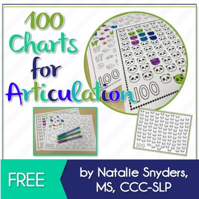 Free 100 Trial Charts for Articulation