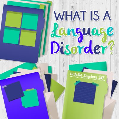 Explaining Language Disorders in Parent & Teacher Friendly Terms