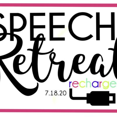 Speech Retreat – Recharge – Virtual Conference 2020