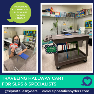 Traveling Cart for SLPs in the Time of COVID-19